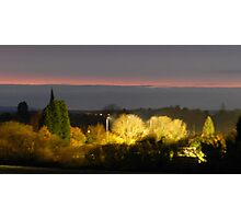 Horsham after Sunset Photographic Print