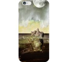 Baño de mar iPhone Case/Skin