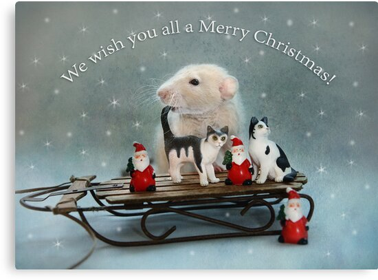 Merry Christmas! by Ellen van Deelen