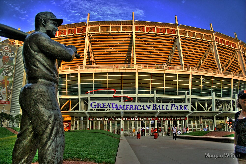 Great American Ballpark by Morgan Wright