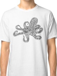Doodle Octopus Classic T-Shirt