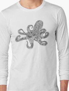 Doodle Octopus Long Sleeve T-Shirt