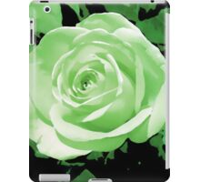 green rose flower i pad case iPad Case/Skin