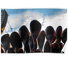 The Olympic Flame Poster