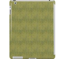 Grungy Yellow Micro Dots iPad Case/Skin