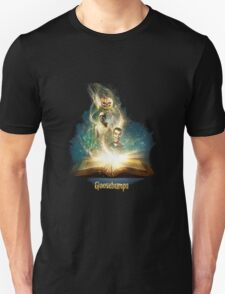 fun mixed action comedy and scare goosebumps the movie T-Shirt
