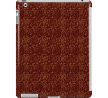 Grungy Red and Yellow Pavers iPad Case/Skin