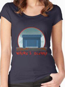 WHERE´S GLENN? Women's Fitted Scoop T-Shirt