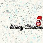 merry christmas owl by studena