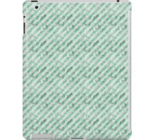 Grungy Green Stripes iPad Case/Skin