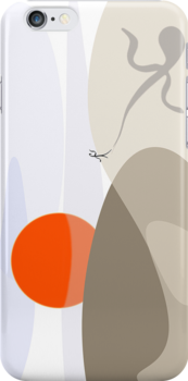 Sunrise shadow play iPhone case by Richard G Witham