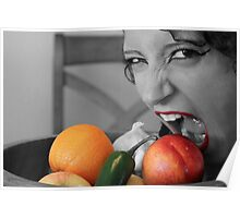 Watch Out Fruit Poster