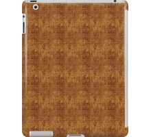 Grungy Golden Circles Pattern iPad Case/Skin