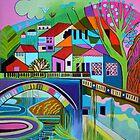 The bridge at Aljezur by Liz Allen