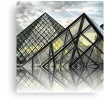 Louvre Utopia Canvas Print