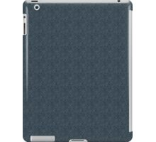 Grungy Blue Stripes iPad Case/Skin