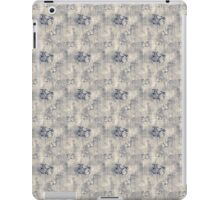 Grungy Black Butterfly Pattern iPad Case/Skin