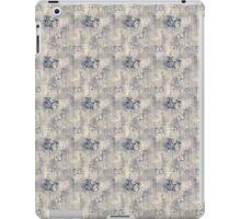 Grungy Black Butterfly Pattern iPad Case/Skin