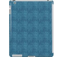 Grungy All Blue Circles iPad Case/Skin