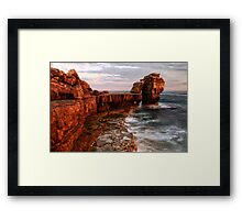 Pulpit Rock HDR Framed Print