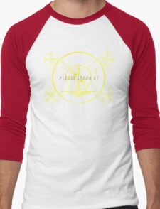 Please Stand By Men's Baseball ¾ T-Shirt
