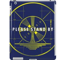 Please Stand By iPad Case/Skin