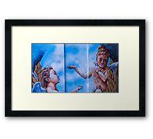 The Divine Messengers Framed Print