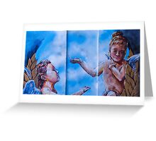 The Divine Messengers Greeting Card