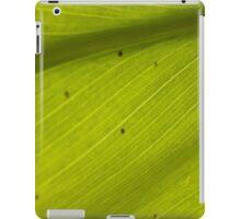 Green Variegated Hawaiin Leaf 3 iPad Case/Skin