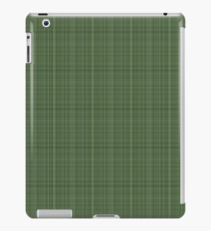 Green Plaid iPad Case/Skin