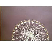 FILM WHEEL Photographic Print