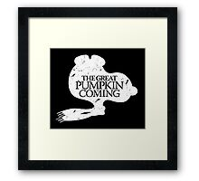 Game of Peanuts Framed Print