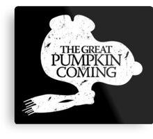 Game of Peanuts Metal Print
