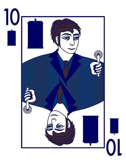 Ten of Tardis - Dark Blue by trekvix