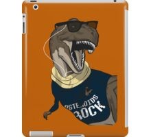Hipstereosaurus Rex (Version 2) iPad Case/Skin