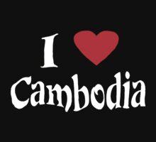 I love Cambodia by hurlz