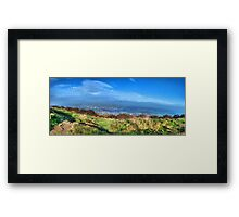 Surprise View Panorama Framed Print
