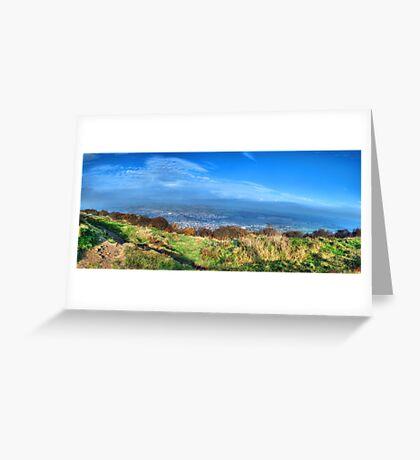 Surprise View Panorama Greeting Card