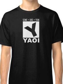 Yaoi rating Classic T-Shirt