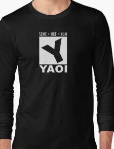Yaoi rating Long Sleeve T-Shirt