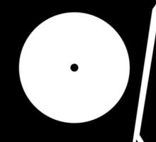 broken record Sticker