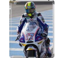 Karel Abraham  in Jerez 2012 iPad Case/Skin