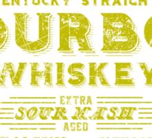 Bohannon Bourbon (yellow) Sticker