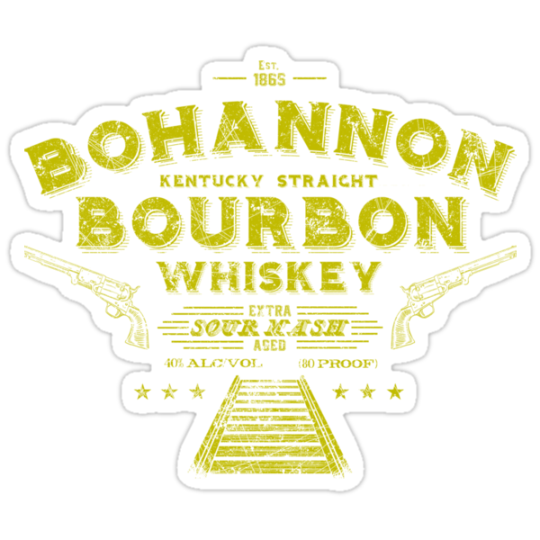 Bohannon Bourbon (yellow) by TeeKetch