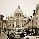 St. Peter&#x27;s Basilica by Katarzyna Siwon