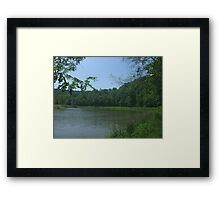 Wilderness Lake  Framed Print