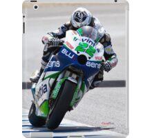 Ivan Silva in Jerez 2012 iPad Case/Skin