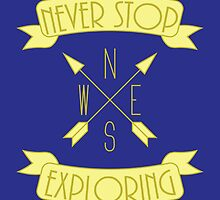 Never Stop Exploring by NoSaysLion