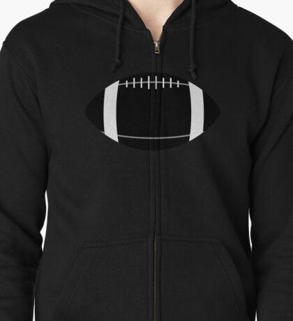 american football Zipped Hoodie