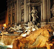 Trevi Fountain by Katarzyna Siwon